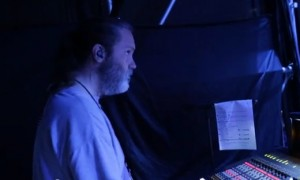 Metallica monitors engineering Bob Cowan on point.