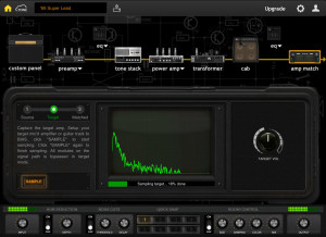 The amp matching GUI. (click to enlarge)