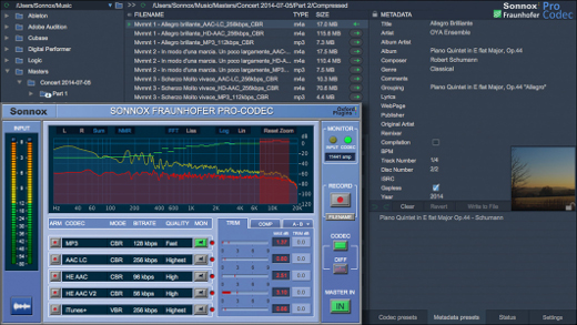 Sonnox and Fraunhofer Launch Pro-Codec Version 3