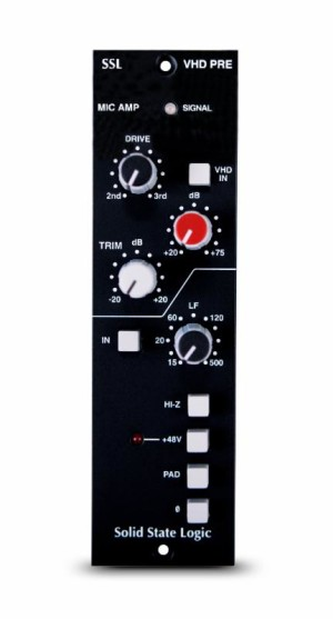 Solid State Logic Introduces 500 Series Vhd Pre At Namm