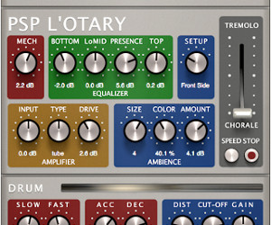PSP Audioware Introduces Master Quality Rotary Speaker Plug-In, L'otary