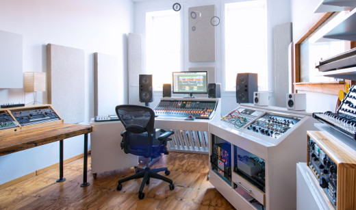 Recording Studio Sweet Spot: Transmitter Park Studio — Greenpoint, Brooklyn