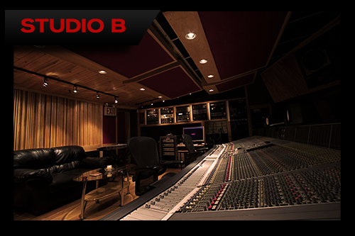You'll be comfortable in Premier's SSL-equipped Studio B.