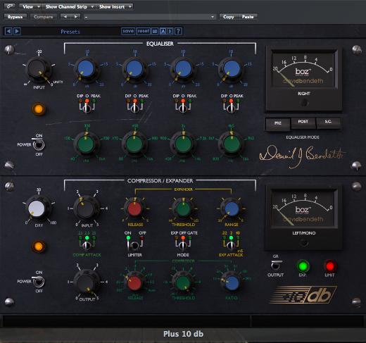 Boz Digital Lab's +10db – A Big Review of a Mixing Plugin