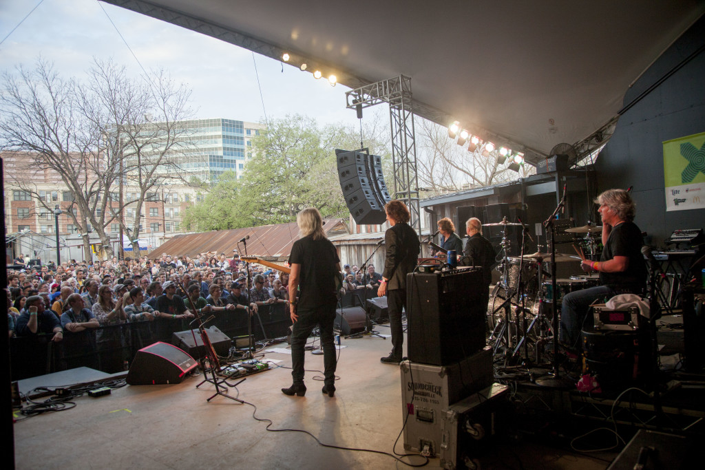 The Zombies take the stage at SXSW. Photos and story by Becky Yee.