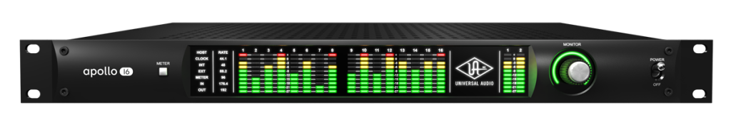 Apollo comes equipped with 16 x 16 analog I/O via DB-25 Connectors.
