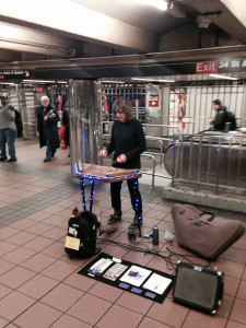 Paul Juba Mueller makes up the New York City's subway soundscape.