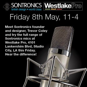 LA Event: Meet Sontronics' Trevor Coley – Friday, 5/8 at Westlake Pro