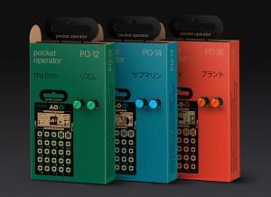 All 3 Pocket Operators by Teenage Engineering,