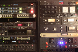 Delays, reverbs, and filters are key to Boynton's outboard arsenal.