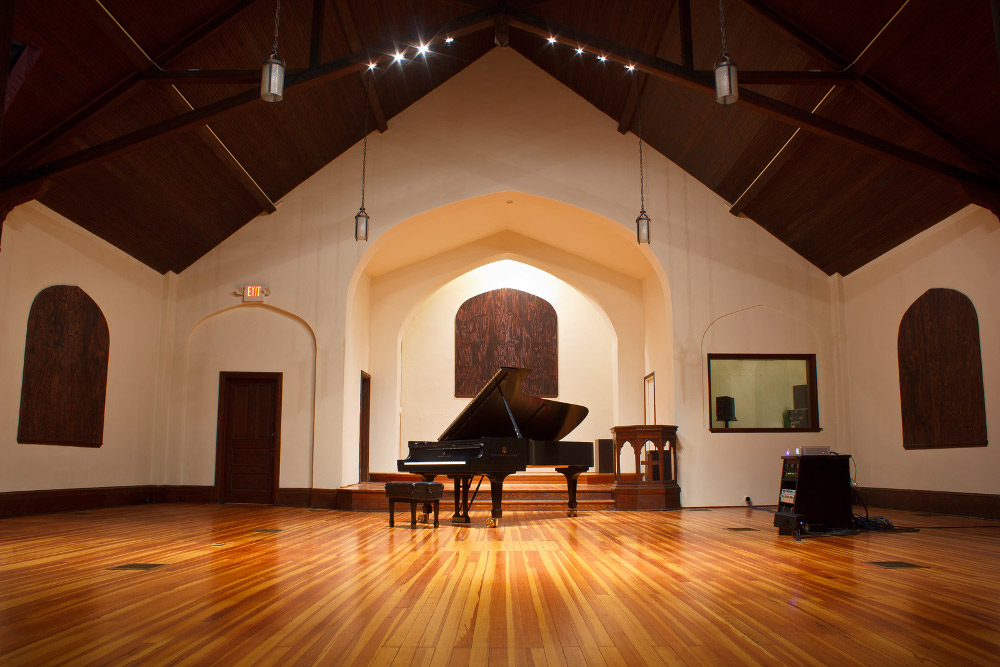 Make a joyful noise -- the Sono Luminus live room is borne of a church circa-1916.