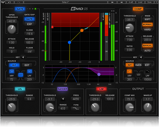 Waves Audio Launches eMo D5 Dynamics Plugin: 5-in-1 Multi-Dynamics with Parallel Detection