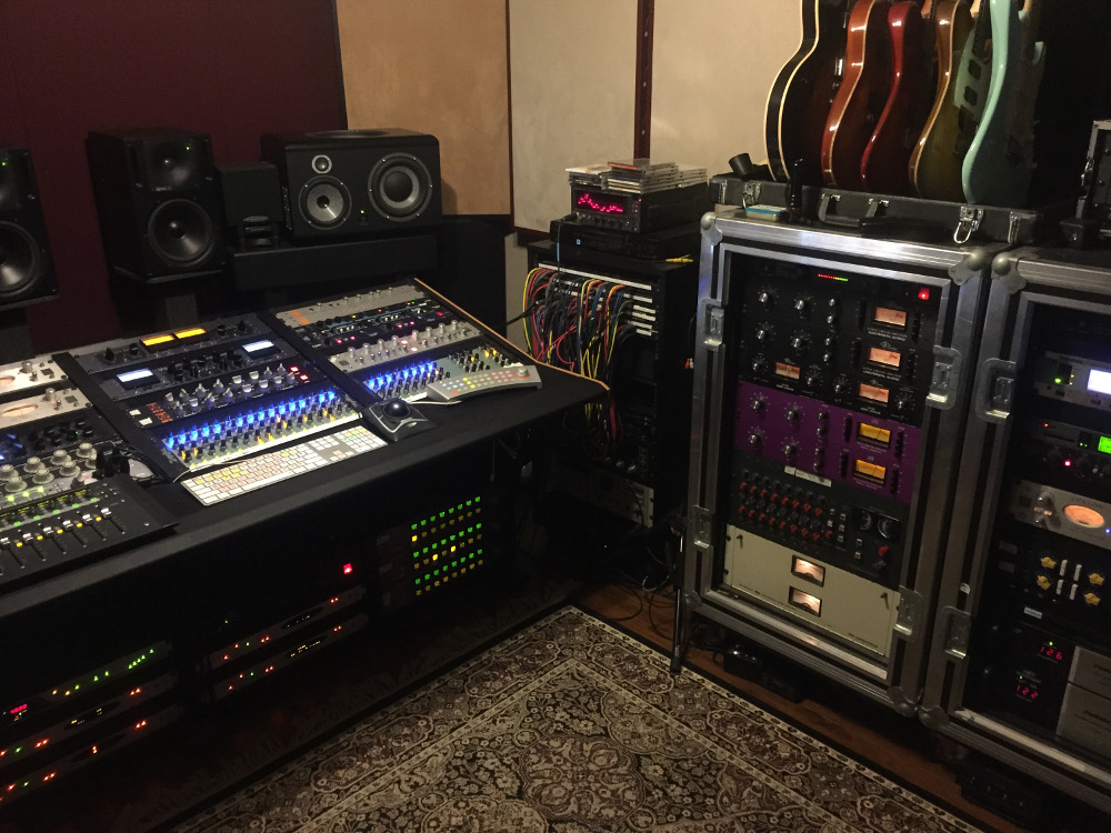 James' console is mix HQ in Simi Valley.