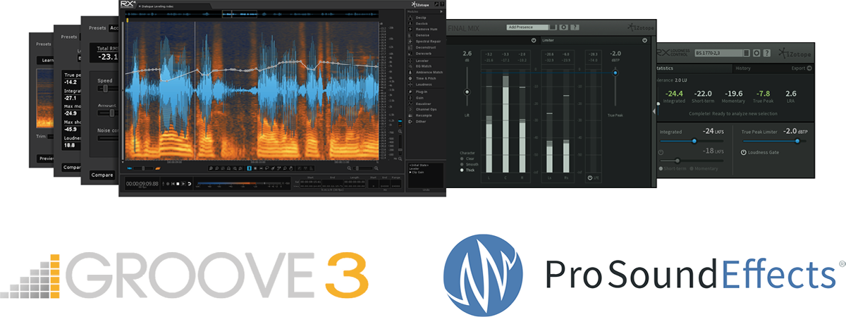 iZotope Announces RX Post Production Suite and RX 5 Audio Editor