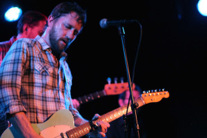 Every guitarist has more than one. Chris Shiflett, pictured here playing a standard telecaster with his side project The Dead Peasants.