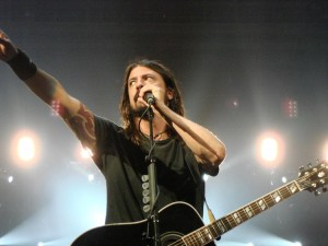 Dave Grohl's rhythm guitar sounds serve as a touchstone for countless young rock musicians and fans.