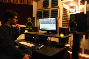 Ryan Benyo at work.