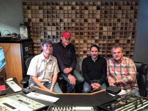 Kent Hooper, far left, at the VMMW.