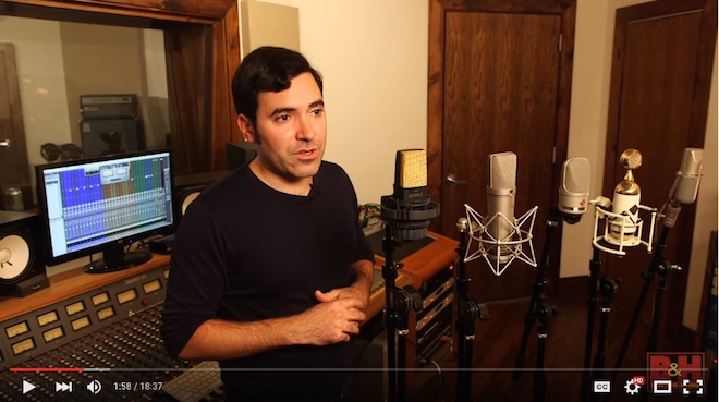 Mic Shootout: Classic Large Diaphragm Condensers [VIDEO]