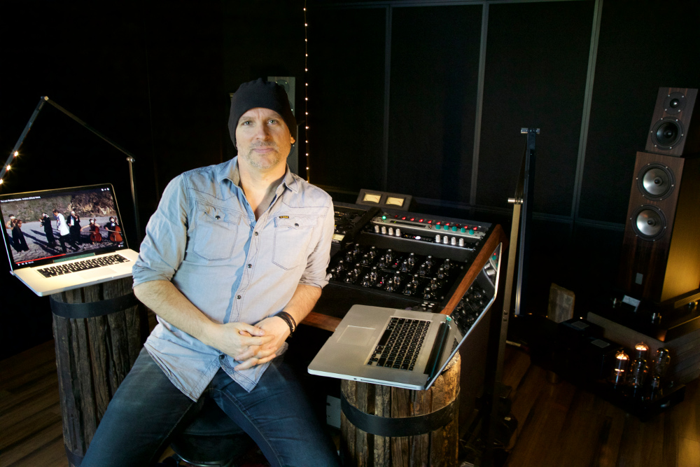 Brian Lucey -- we assure you, he is most serious about the art of mastering.