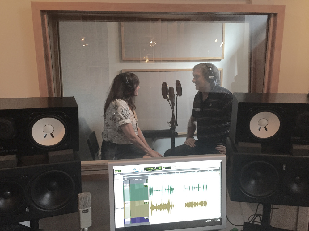 Dedicated facilities: Recording Lisa Burns & Sal Maida