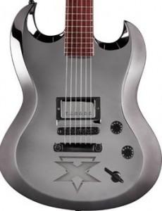 A Framus Phil X signature model guitar.