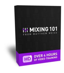 Coincidentally enough, The Pro Audio Files has added a new offering from Matthew Weiss: Mixing 101.
