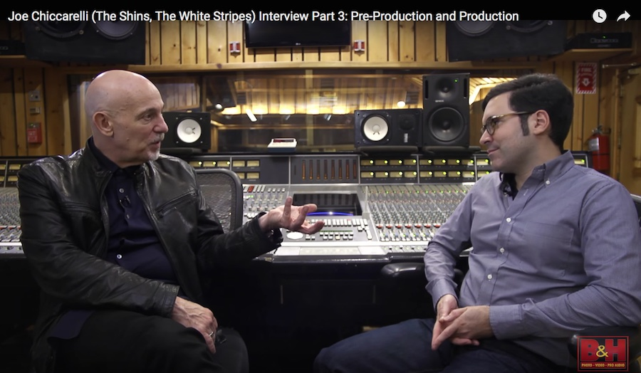 Joe Chiccarelli Interview Part 3: Working with Frank Zappa, The White Stripes, Spoon, Morrissey & Alanis Morissette