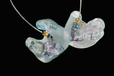 Silicone-based Encore Studio custom IEMs from ACS.Silicone-based Encore Studio custom IEMs from ACS.