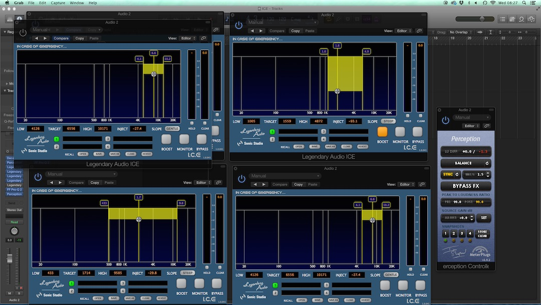 "New Software Review: ""I.C.E."" De-Distortion Plugin from Legendary Audio & Sonic Studio"