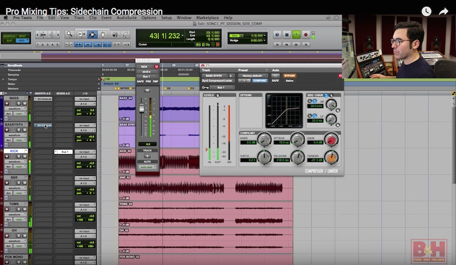 Video: Advanced Compression Techniques, Part 2—Sidechain Compression