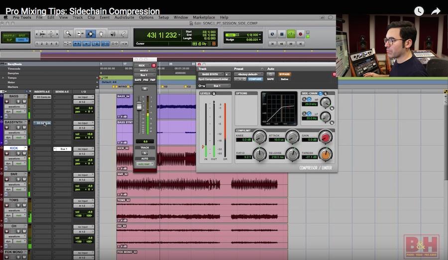 Video: Advanced Compression Techniques, Part 2—Sidechain Compression
