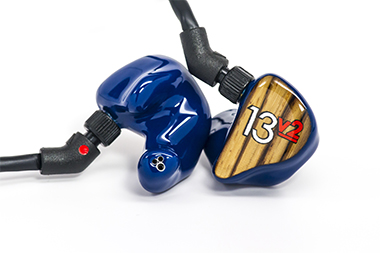 Custom in-ear monitors from JH Audio, one of the first brands to make a name for itself in the IEM market.