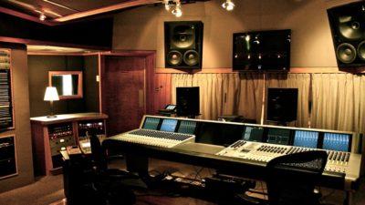 A Euphonix System 5 helms Studio B.