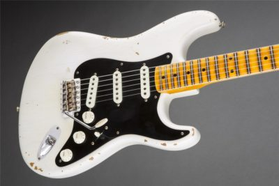 "A Fender ""Ancho Poblano"" Stratocaster from the Custom Shop."