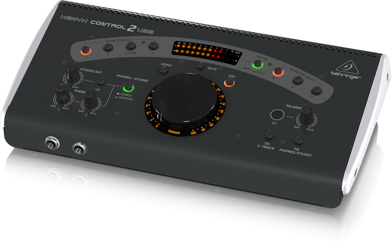 the behringer xenyx control2usb monitor controller now controlling monitors sonicscoop. Black Bedroom Furniture Sets. Home Design Ideas