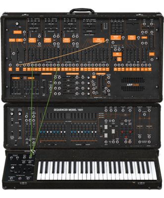 The ARP 2600 put the analog edge in the box.