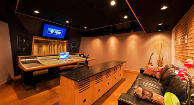 The recording and mixing facilities at Truphonic, like Studio A shown here, make it a world-class Southern homestead for Meller.
