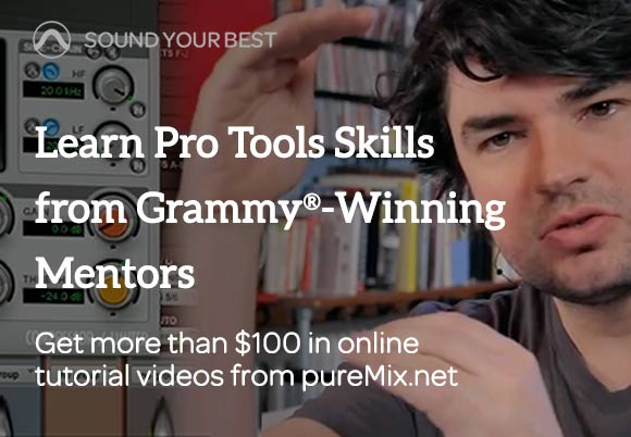 Avid Offers $100 Worth of pureMix Tutorial Videos with Pro Tools Subscription or Purchase Until September 30th