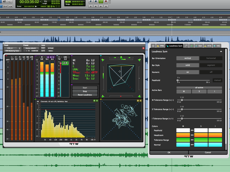 New Software Review: Masterclass Mastering & Loudness Tools from RTW