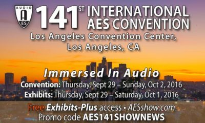 Preview: The 141st AES Convention in Los Angeles