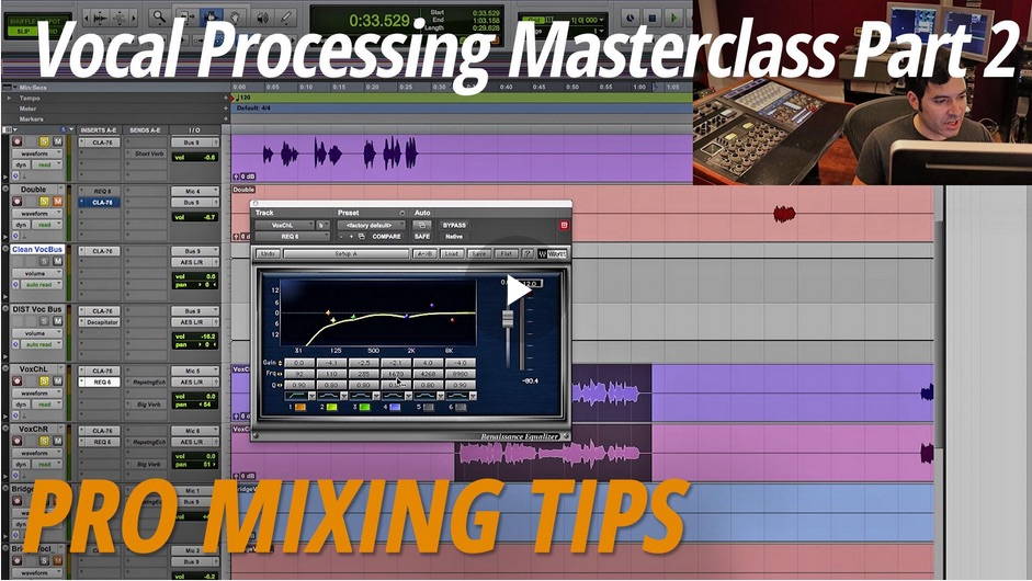Vocal Mixing Masterclass Part 2: Compression and EQ [Video]