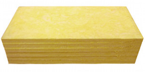 Owens-Corning 703 rigid fiberglass insulation is one option, along with even more cost-effective Armstrong acoustic tiles.
