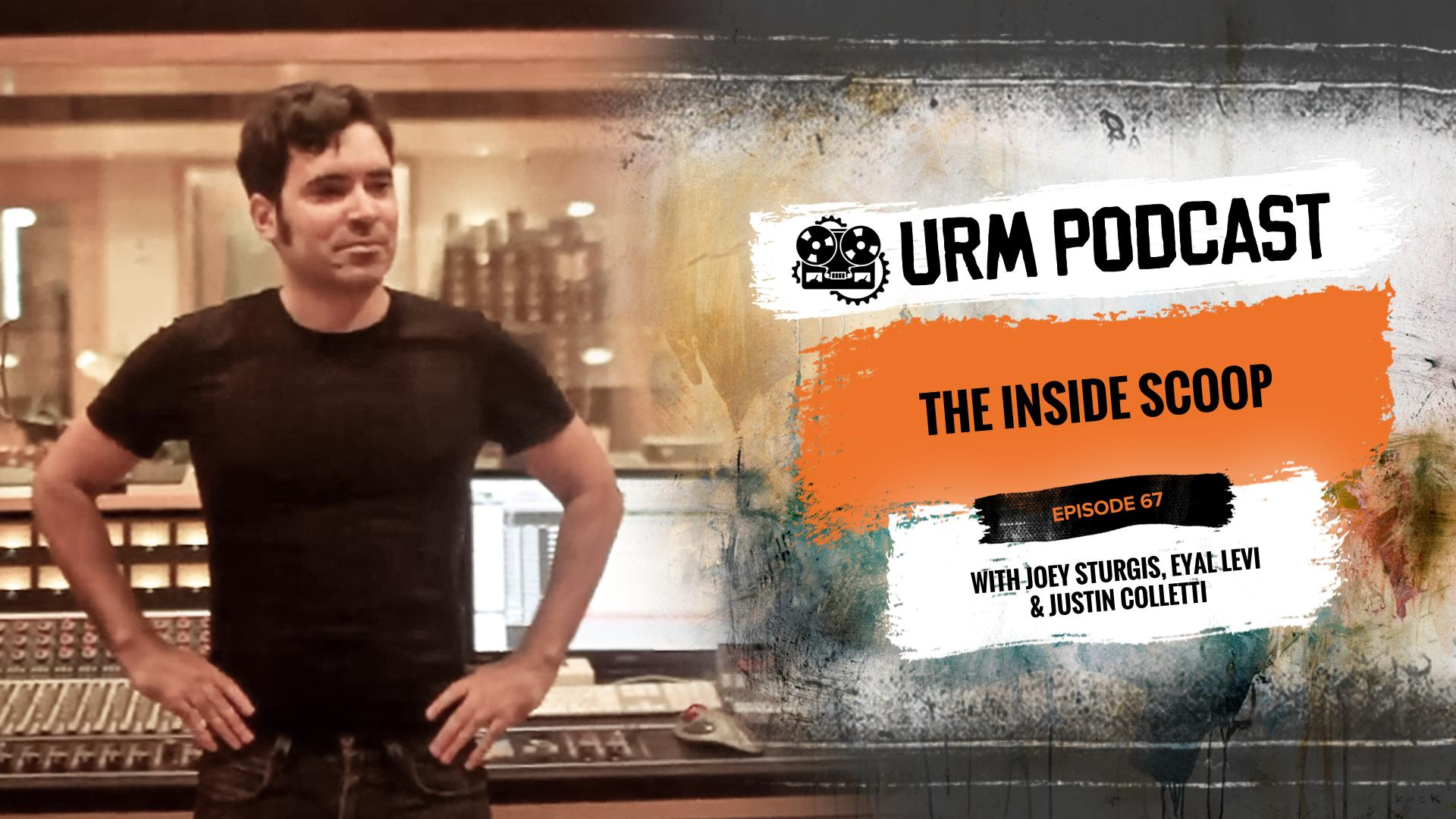 Music Business, Art & Financial Freedom: SonicScoop's Justin Colletti Featured on the URM Podcast
