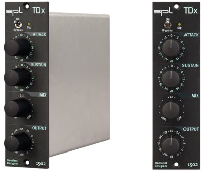 The SPL TDx packs a big punch into the compact 500 series format.