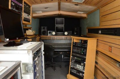 One Of Record Plants Legendary Mobile Recording Studios For Sale