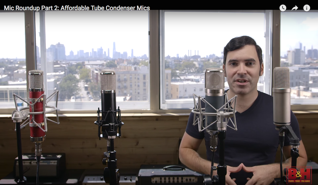 Video: Affordable Tube Condenser Mic Roundup