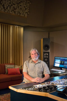 David Glasser crossfaded from live sound to mastering in 1983.