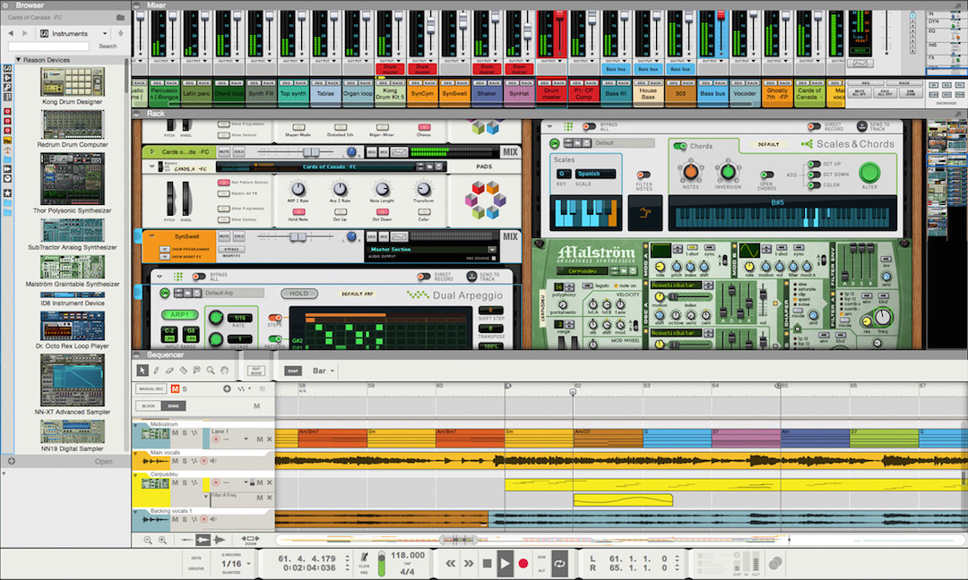 New Software Review: Reason Version 9 by Propellerhead