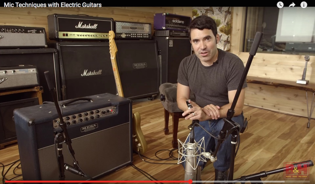Best Ways To Mic a Guitar Amp